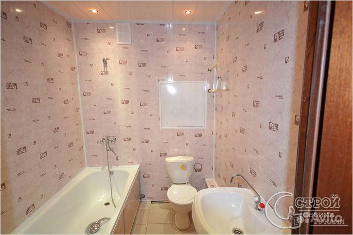 Ремонт ванной своими руками пластиковыми панелями