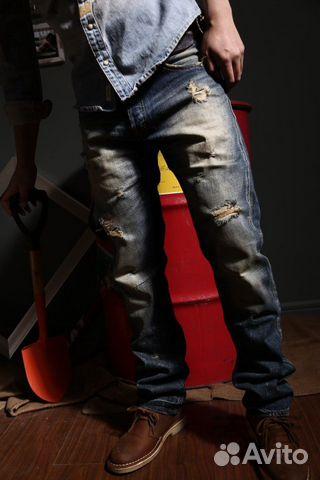 Prps Barracuda made in Japan улётные джинсы