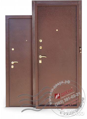 двуполая дверь металлическая