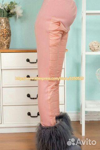 Розовые штаны для беременных