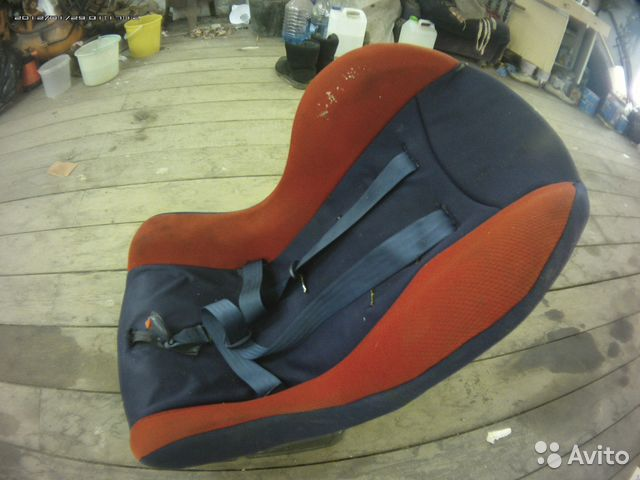 Кресло детское автомобильное б у