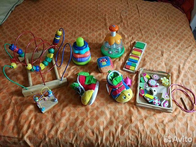 Развивашки для детей 1-2 года