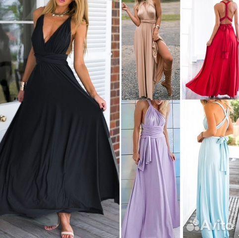 Платье трансформер цена