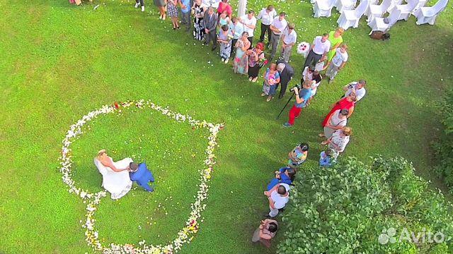 Съемка свадьбы с квадрокоптера цена шторка от солнца к дрону mavic pro