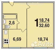 1-к квартира, 5 кв.м, 6/9 эт. festima.ru - мониторинг объявл.