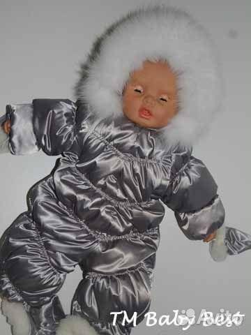 Комбинезон детский зимний своими руками фото