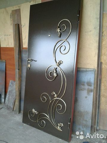 двери металлические холодной ковки