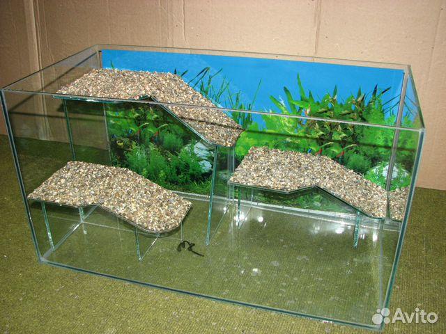 Подставка в аквариум для черепахи своими руками 47