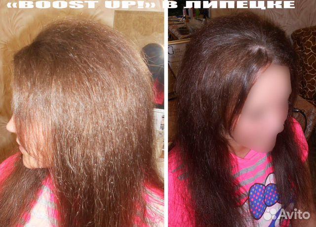 фото прикорневой химии волос