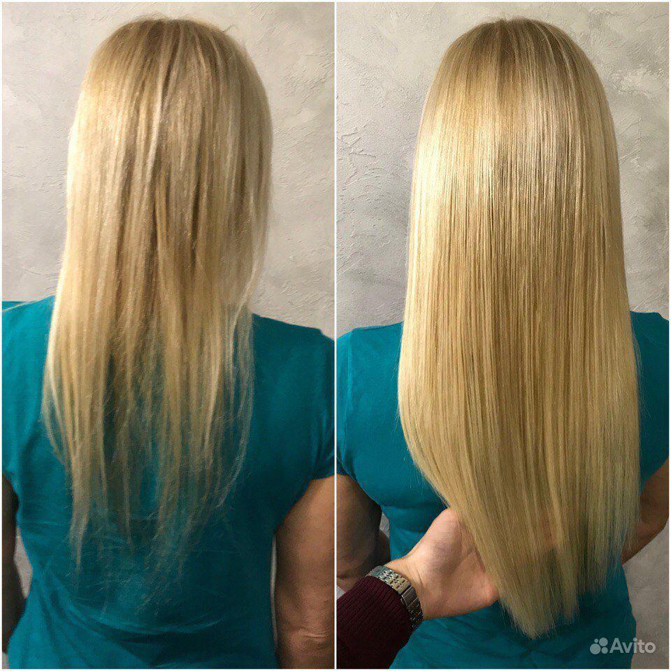 Наращивание волос купить на Вуёк.ру - фотография № 2