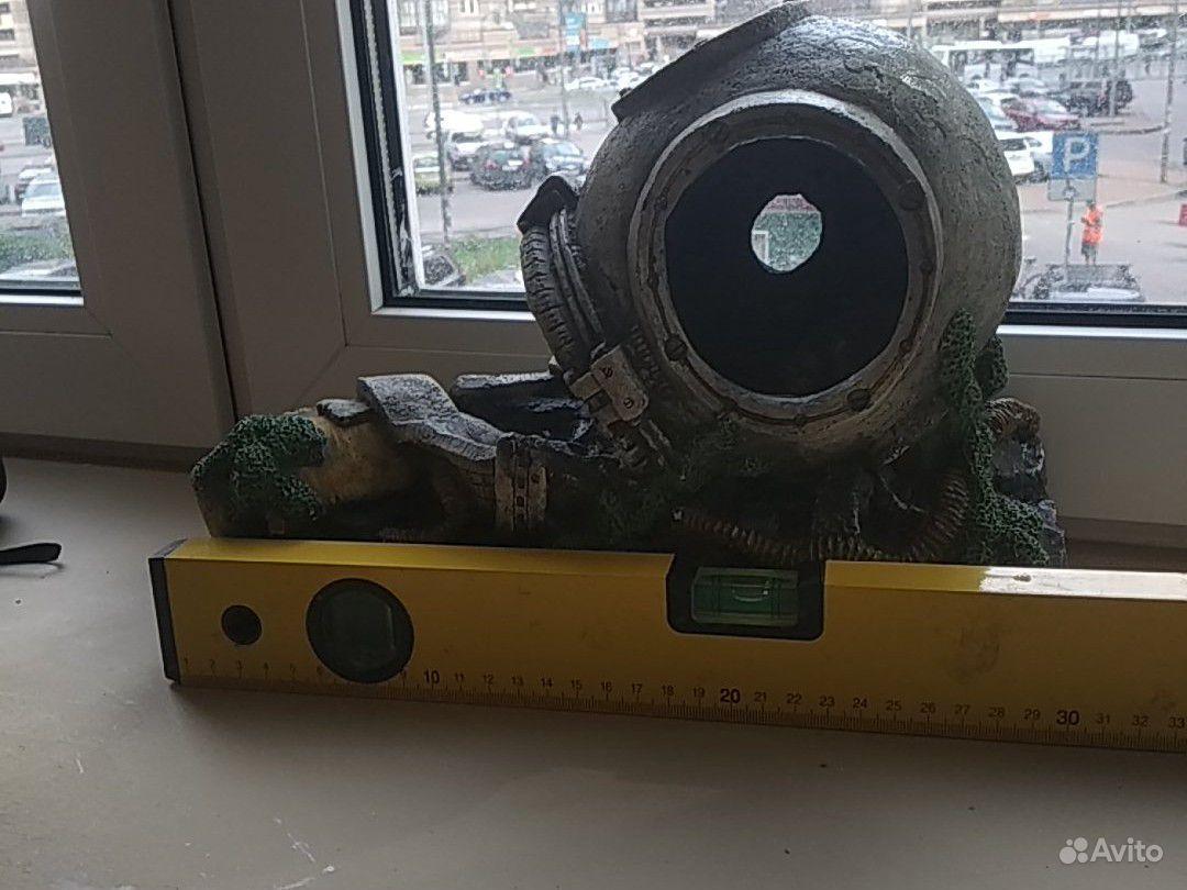 Декорация аквариум. водолазный шлем купить на Зозу.ру - фотография № 3