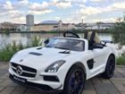 Электромобиль Mercedes SLS AMG (white edition)