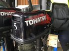 Лодочный мотор бу Tohatsu M 5 BD S, 2-х тактный