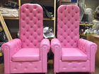 Кресло диван трон