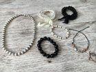 Комплект бусы браслет, ожерелье и браслет детский
