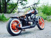 Honda Steed- Bobber custom
