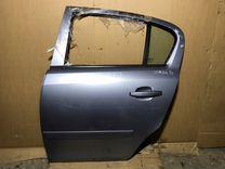 Дверь Opel Corsa D задняя левая