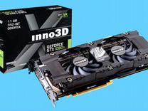 Видеокарта Inno3D GeForce GTX 1080Ti TwinX2 11GB — Товары для компьютера в Москве