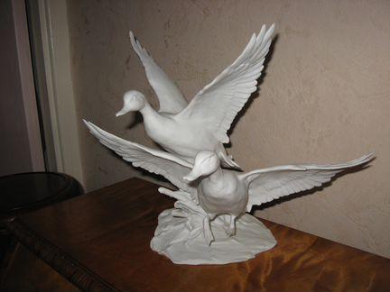 Скульптура утки Кайзер бисквит объявление продам