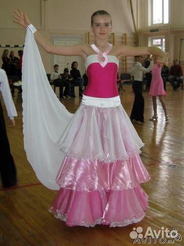 Объявление Бальное платье (с фотографией). Платье для бальных танцев