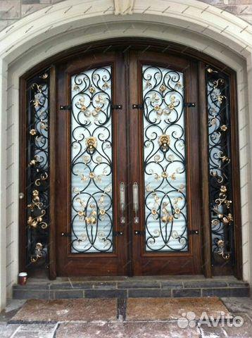 входные кованые двери цена