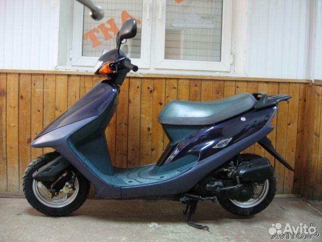 Скутер honda tact s af30 31 темно синий