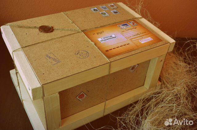 Ящик для посылки ку