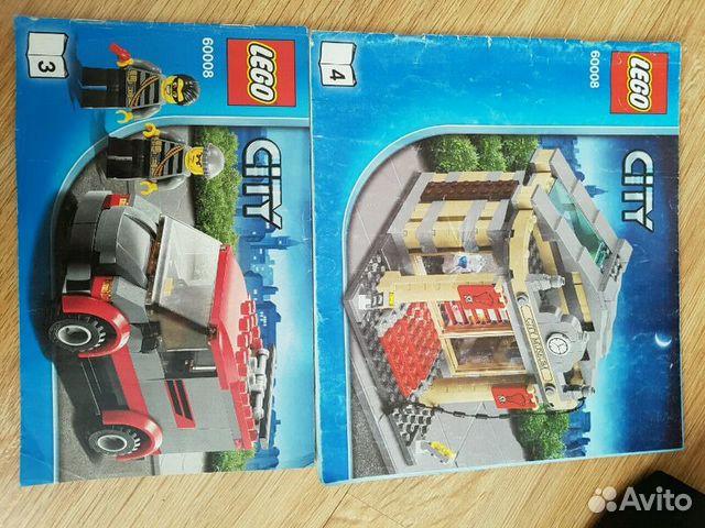 60008 Конструктор Lego Город Ограбление музея