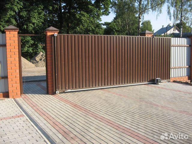 Производство сдвижных ворот в москве как устанавливать ворота