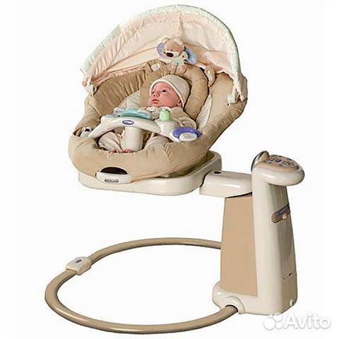 Качели для новорожденных электронные graco sweetpeace