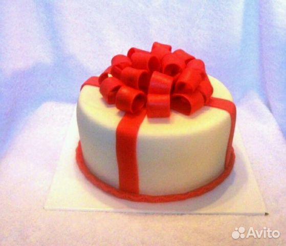торт с бантиком фото