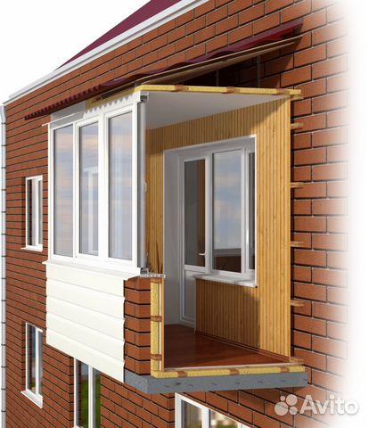 Отделка балкона/лоджии под ключ недорого onokna.