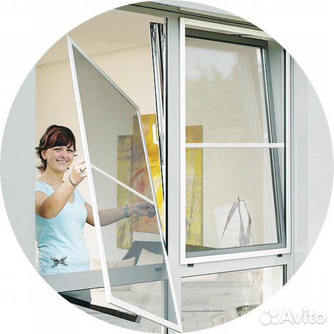 """Москитные сетки компания """"ваши окна""""."""