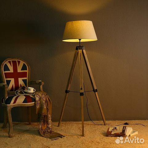 торшер на треноге купить в москве на Avito объявления на сайте авито