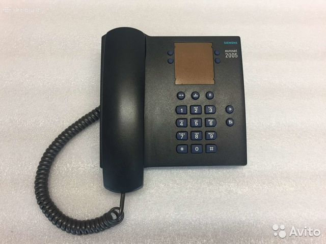 Телефон siemens euroset 802 инструкция
