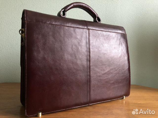 70e1e302c7b0 Портфель мужской кожаный wanlima купить в Москве на Avito ...