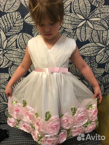 Платье нарядное на рост 122-130см 89090134444 купить 1