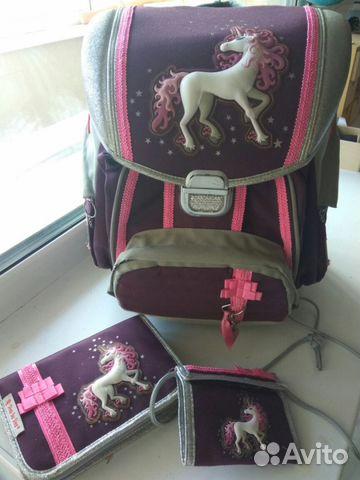 e4edb414a674 Ранец рюкзак школьный Hama Step by step Unicorn купить в Тульской ...