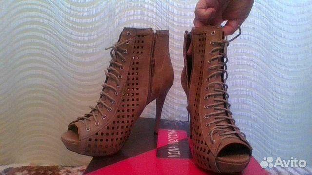 Новые модельные женские туфли-ботильоны 39 размер  a27ae377b6c39
