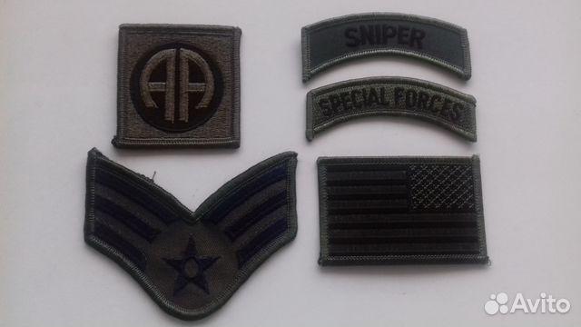 Нашивки армии США 89244016358 купить 5