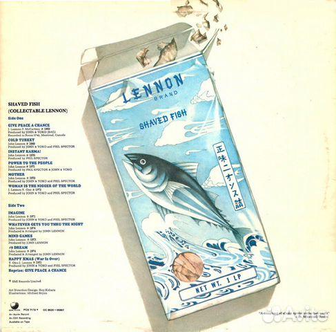 plastic ono band shaved fish
