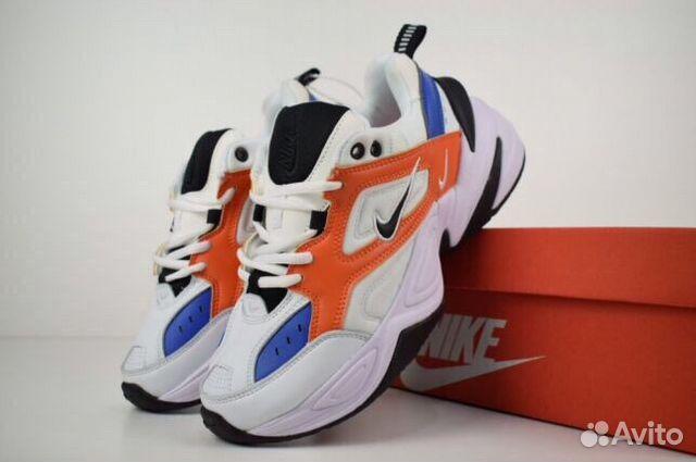 60c2aee1 Кроссовки Nike m2k tekno белые Синие красные 36-45 | Festima.Ru ...