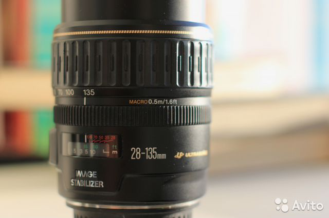Объектив Canon EF 28-135mm f/3.5-5.6 IS купить 5