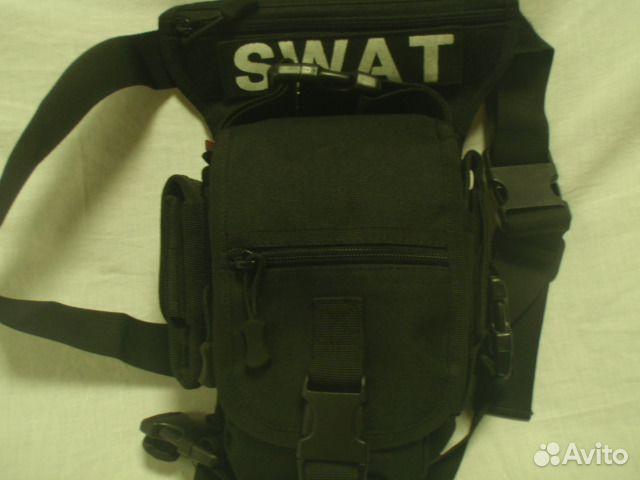 d17ee326e6ce Мужская поясная сумка-визитка swat купить в Москве на Avito ...