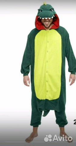 Пижама кигуруми крокодил M-165 88 - Личные вещи bf3ca591a7860