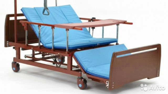 Для ухода за лежачими больными кровать дома престарелых, фото