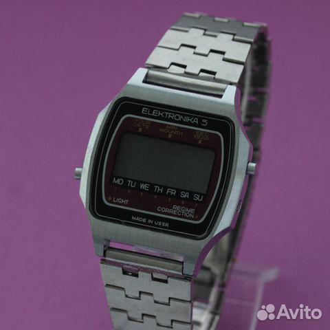 86b16596 Elektronika 5 Электроника 5 электронные часы СССР купить в Москве на ...