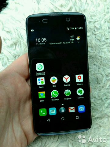 Alcatel idol 3 (4,7') 6039y