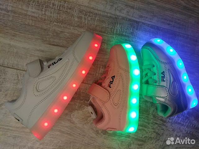 7dedb489 Светящиеся кроссовки fila   Festima.Ru - Мониторинг объявлений