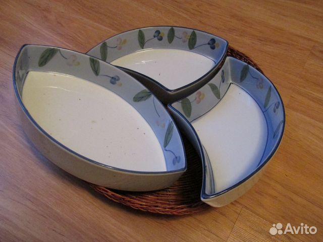 7c5b047dda10 Красивый набор посуды в плетёной корзинке купить в Белгородской ...